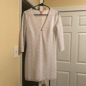 Lilly Pulitzer crochet minidress